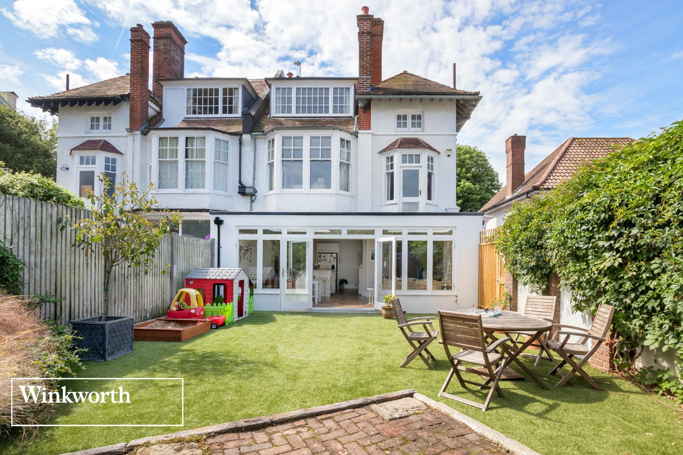 6 Bedrooms Semi Detached House for sale in Temple Gardens, Brighton, East Sussex, BN1