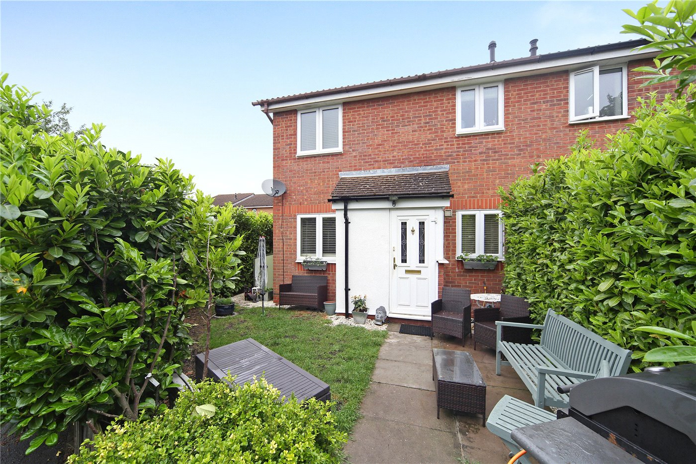 1 Bedroom Terraced House for sale in Hambleton Close, Worcester Park, KT4
