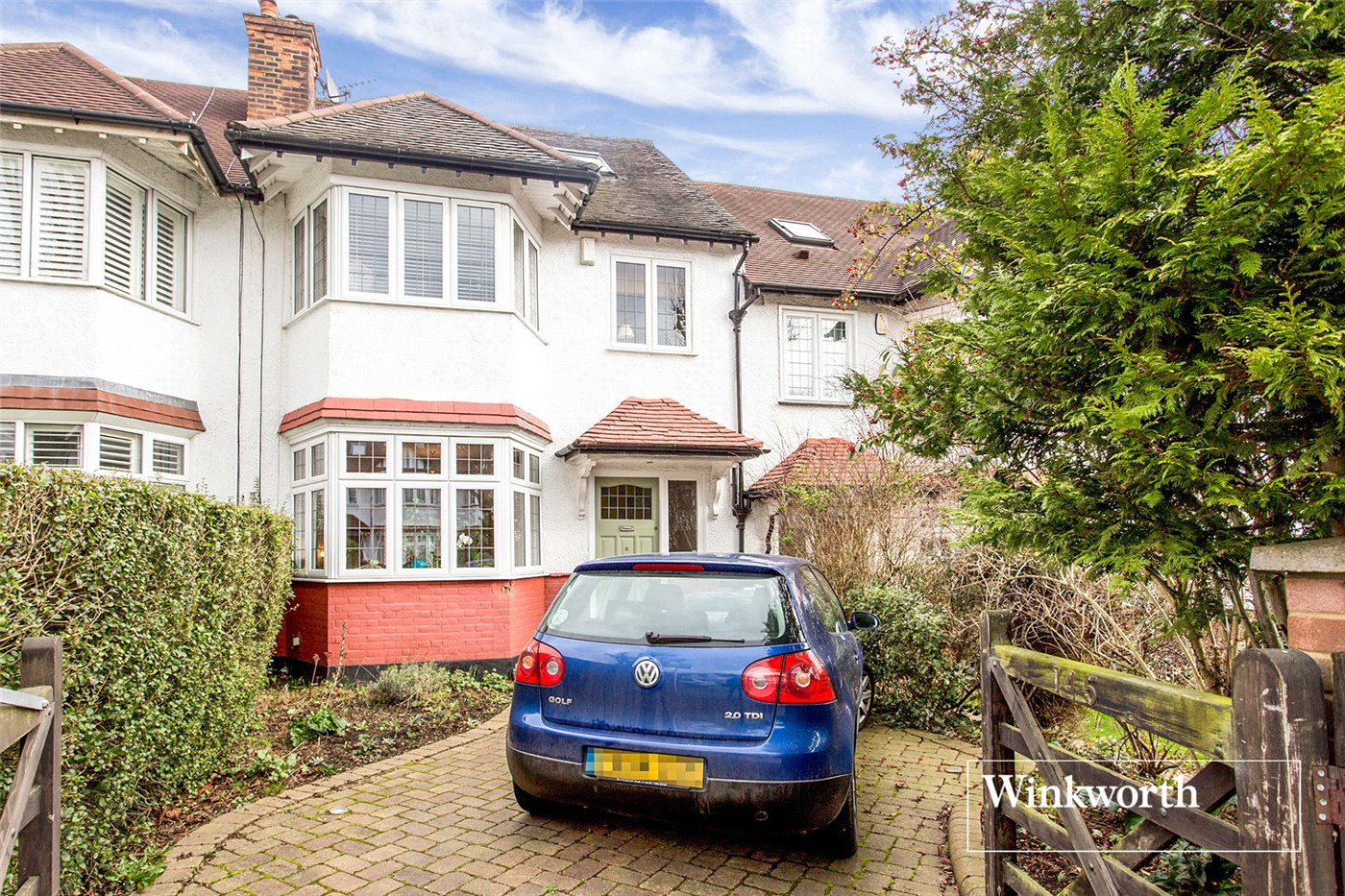 4 Bedrooms Terraced House for sale in Mayfield Avenue, North Finchley, London, N12
