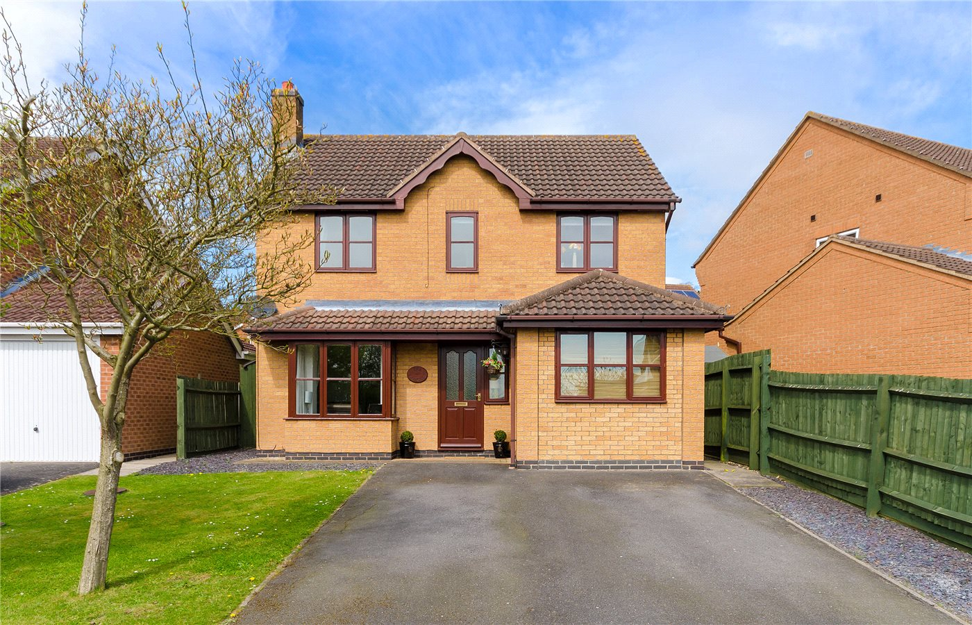 5 Bedrooms Detached House for sale in Malvern Drive, Gonerby Hill Foot, Grantham, NG31