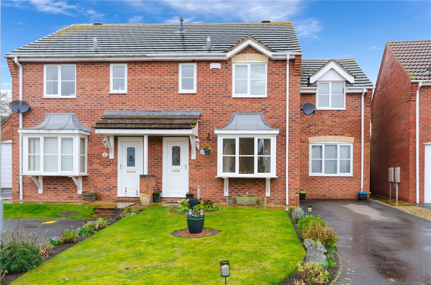 3 Bedrooms Semi Detached House for sale in Coverley Road, South Witham, Grantham, NG33