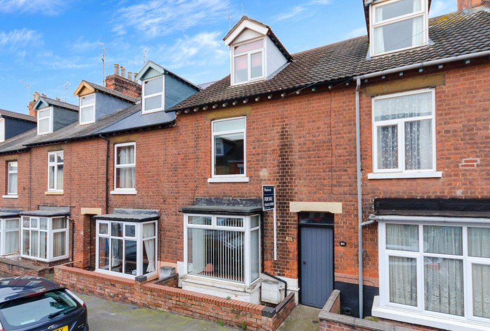 3 Bedrooms Terraced House for sale in Edward Street, Grantham, NG31