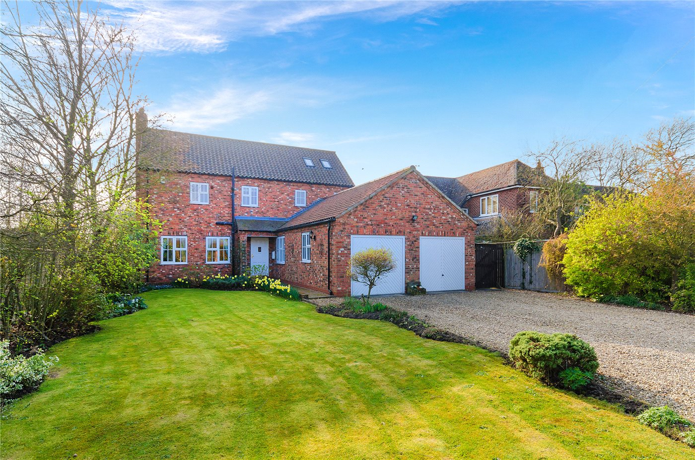 5 Bedrooms Detached House for sale in Ancaster Lane, Oasby, Grantham, NG32