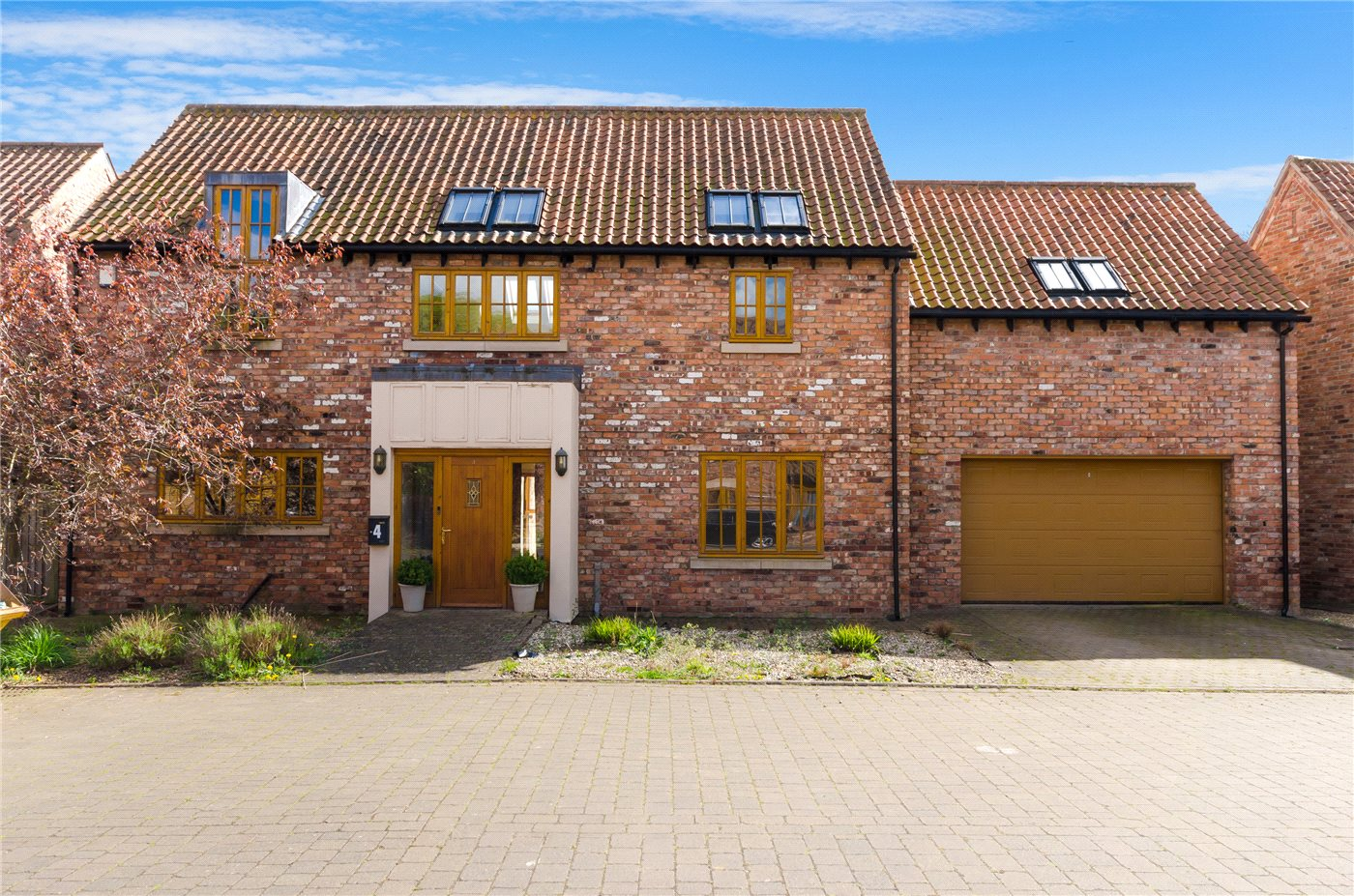 5 Bedrooms Detached House for sale in North End Close, Foston, Grantham, NG32