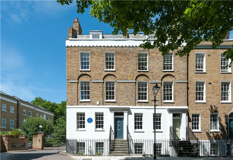 4 Bedrooms End Of Terrace House for sale in West Square, Kennington, London, SE11