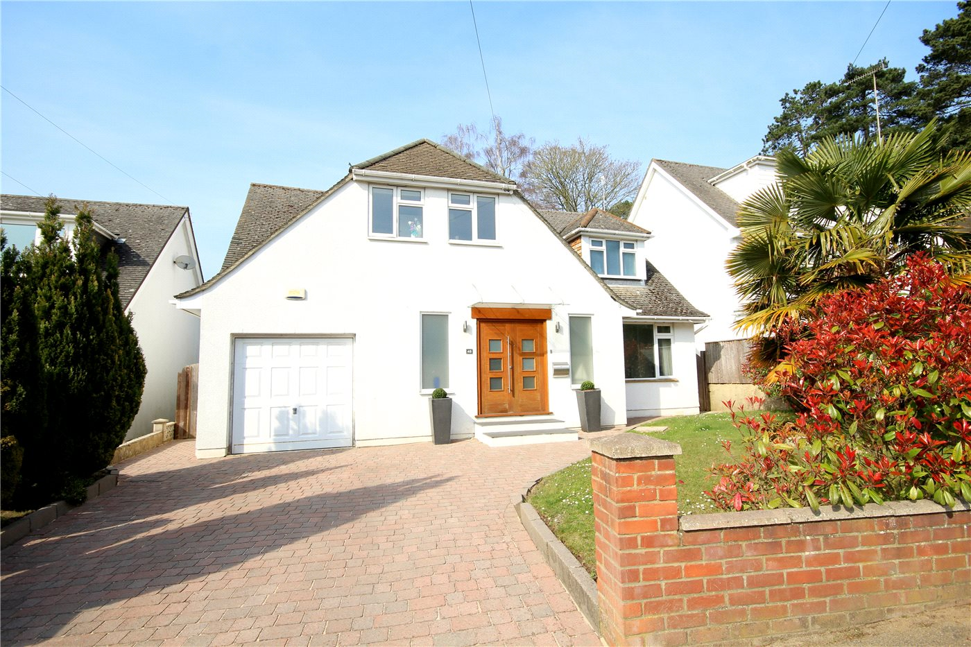 4 Bedrooms Detached House for sale in Links Road, Lower Parkstone, Poole, Dorset, BH14