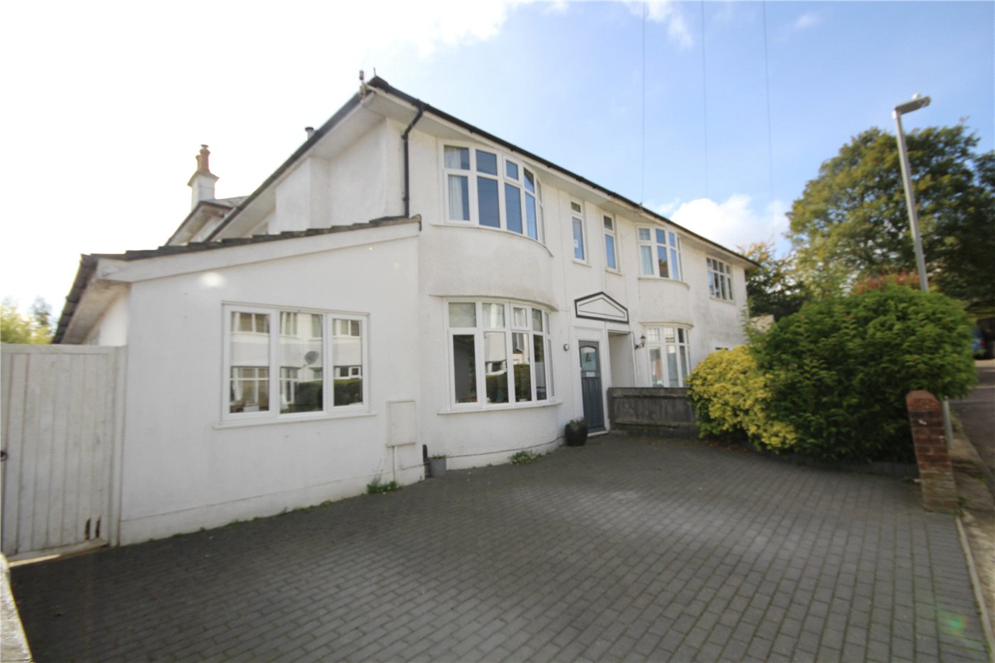 4 Bedrooms Semi Detached House for sale in Mansfield Avenue, Lower Parkstone, Poole, Dorset, BH14
