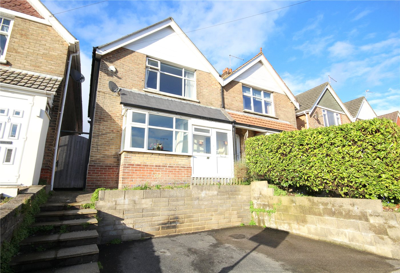 3 Bedrooms Semi Detached House for sale in Alexandra Road, Lower Parkstone, Poole, Dorset, BH14