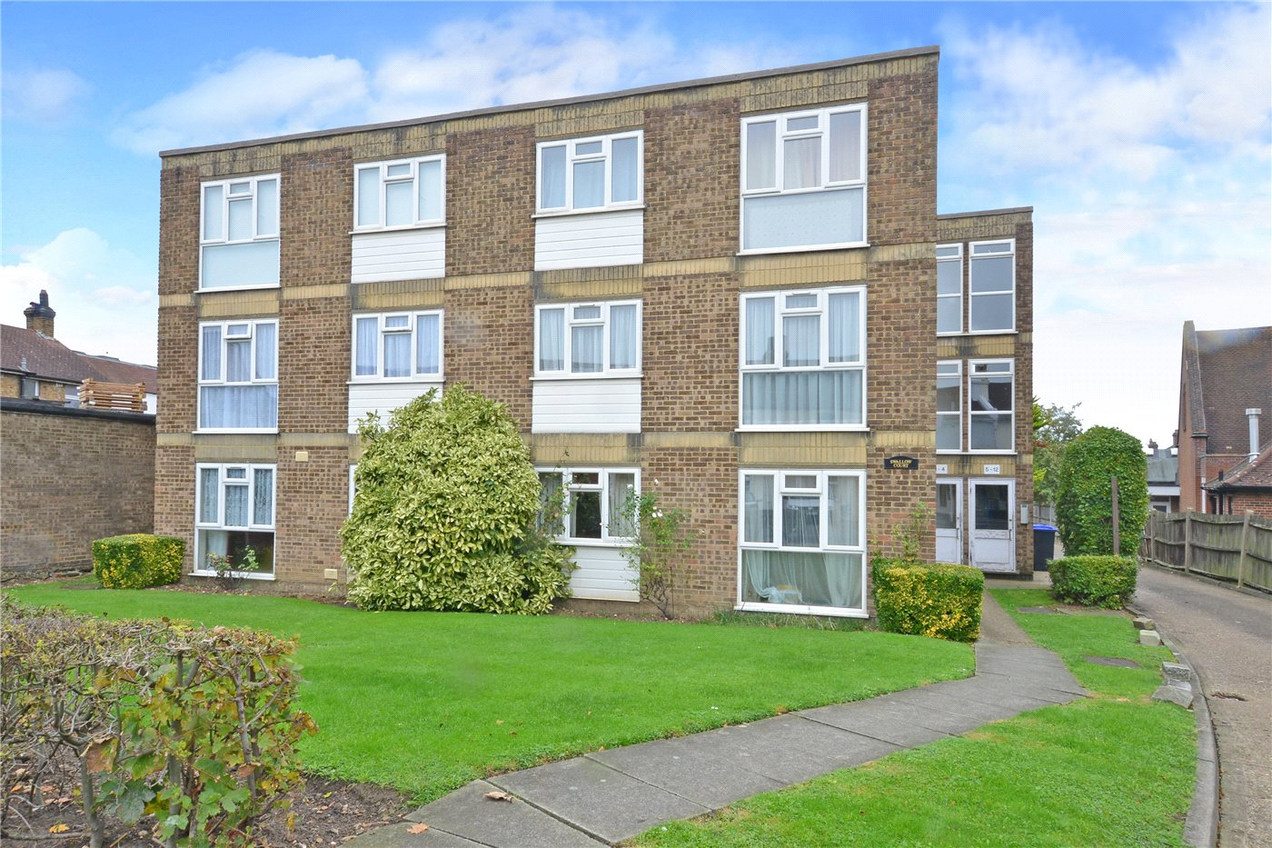 1 Bedroom Flat for sale in Swallow Court, 186 Cheam Common Road, Worcester Park, KT4